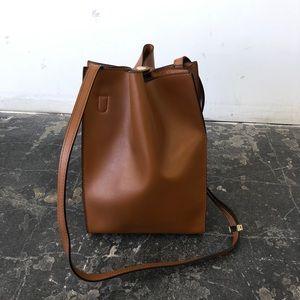 X Nihilo Milford Tan Bucket Bag
